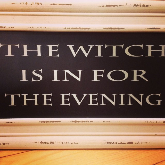 This feels like the truth more often than not ! Perfect sign for Halloween #halloween #laurieshomefurnishings #allhallowseve #witch