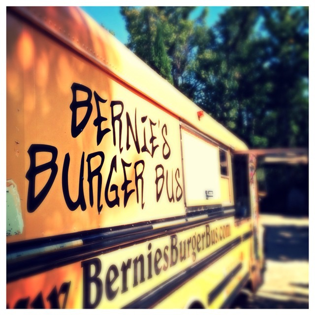 Bernie's is here!!! Come and get it! Here until 3. #meat #burger #lunch #laurieshomefurnishings