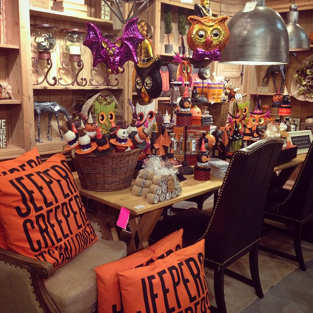 Is your house all decked out? Come get all the decor you need to get your home festive this weekend! #Halloween #pumpkin #instagood #orange #fall #decor #home #tomball #laurieshomefurnishings