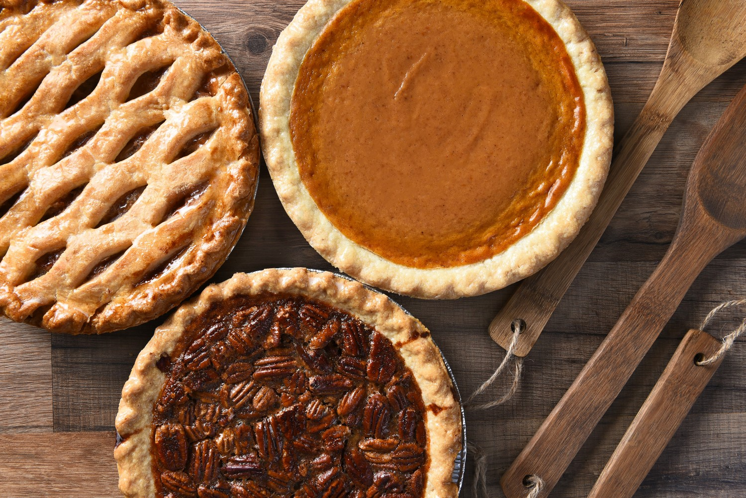 Pecan, Apple and Pumpkin pie fall scents from baking