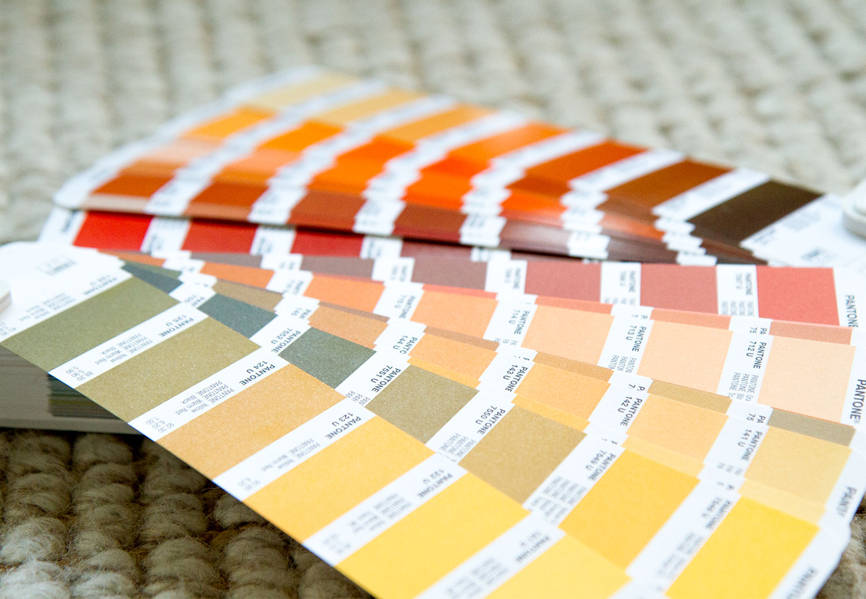 pantone fall color palette