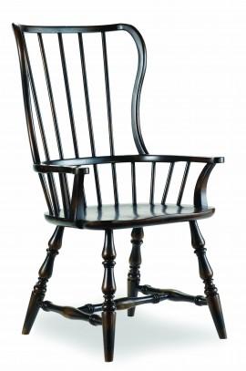 3005-75300-Spindle-Back-Arm-Chair-Ebony