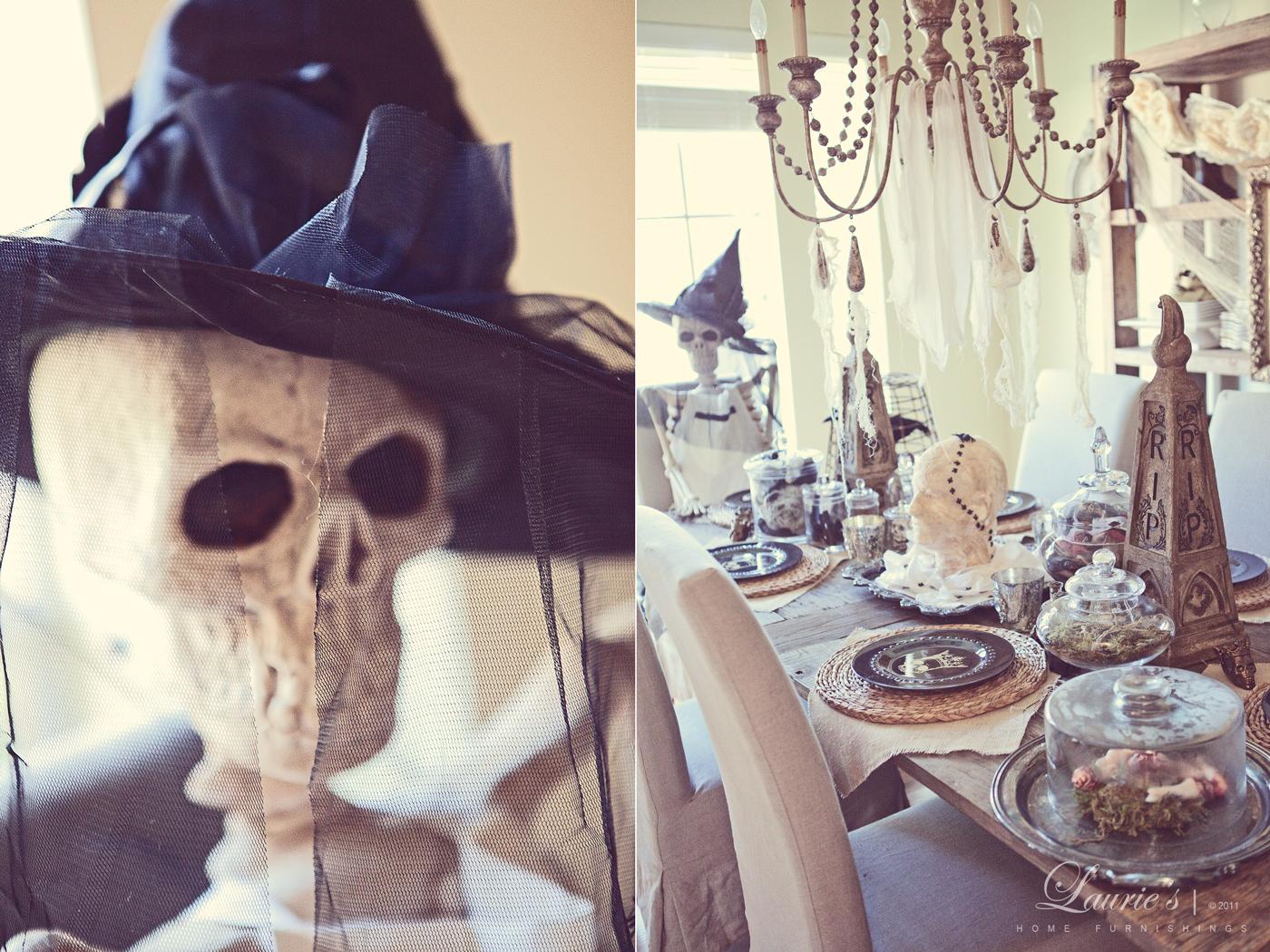 onto the kitchen - Restoration Hardware Halloween