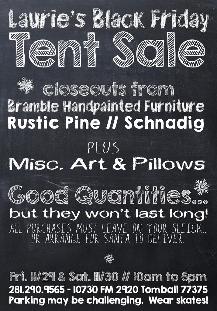 Black Friday Tent Sale v1