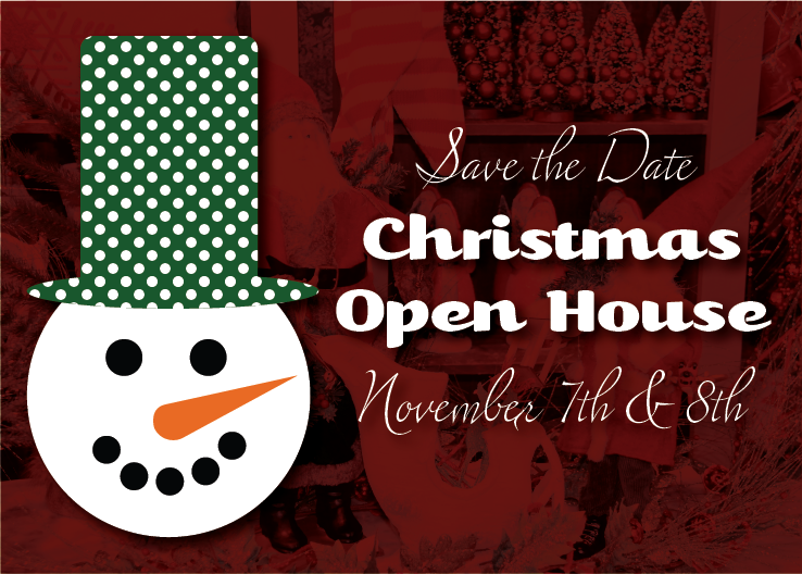 Save The Date Christmas Open House Laurie S Home
