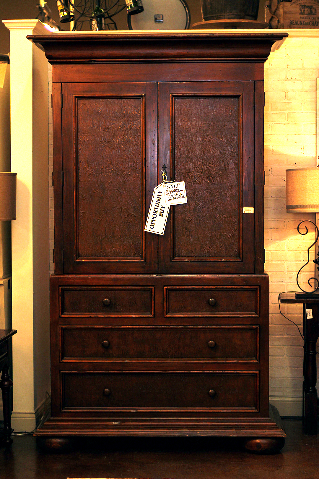 Antique-looking Armoire