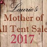 Tent Sale 2017